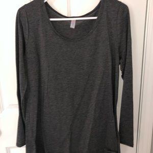 Lularoe Long Sleeve Grey Shirt